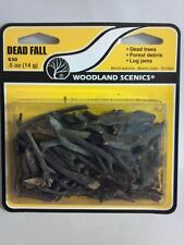 Woodland Scenics Dead Fall Logs Trees or Stumps S-30 Model Trains - New