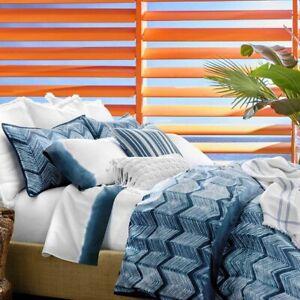 Ralph Lauren St Jean Farrin 4P king Duvet Cover shams Pillow Set $1055