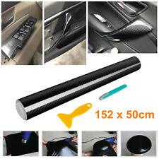 5D Carbon Folie Klebefolie schwarz selbstklebend Auto Carbon Folie