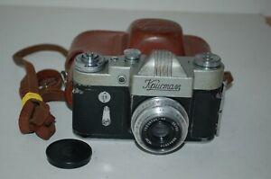 Kristall /Crystal RARE Soviet SLR with Industar-50 Lens, Case. 62028919. UK Sale
