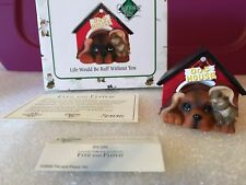 "Charming Tails ""Life Would Be Ruff Without You"" Dean Griff Nib"