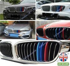 BMW F30 F31 3-Series M-Sport Grill Grille Panel ///M Coloured Trims Clips 8-Slat