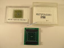 M68TC08AB32FU64  MOTOROLA Adaptersockel-Set QFP64                       A28/3746
