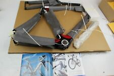 BLUE AC1 LIMITED AERO CARBON ROAD RACE BICYCLE FRAME SET SIZE MD *
