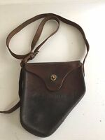 WWII GUNNER'S M1 QUADRANT LEATHER CARRYING CASE M18