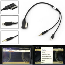 Wholesale AMI MDI MMI 3.5 mm AUX Interface Adapter Car Audio Cable for Audi VW