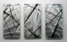 Statements2000 Abstract 3D Metal Wall Art Modern Sculpture Panels by Jon Allen