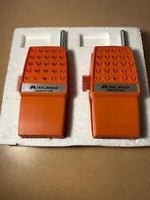 Rare Vintage Midland Transceivers, Orange, Model 91-015