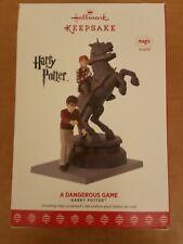 Hallmark 2017 Harry Potter A Dangerous Game Ornament NIB