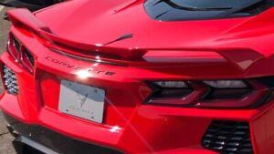 2021 C8 Chevrolet Corvette Z51 Rear Wing Rear Spoiler New Take Off Torch Red OEM