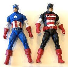 "Marvel Universe 4"" Captain America &  00004000 Us Agent Action Figures Avengers"