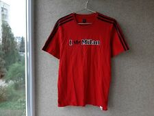 Adidas Milan Vintage  Football Shirt M Jersey Red Soccer italy