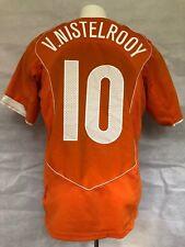Holland Football Shirt 2004-06 Home Van Nistelrooy (Very Good) M Soccer Jersey