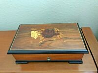 "Vintage Swiss   Thorens  Music Box      Plays Beautifully     6 Songs 1950""S"