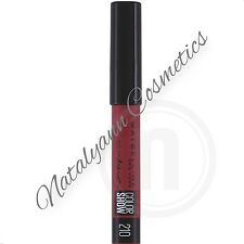 Maybelline Color Drama Intense Velvet Lip Pencil Semi-Matte 10 Shades NEW FREEPP