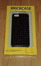 SmallWorks LEGO BrickCase Hard Shell Casing Apple iPhone 5 / 5S Black NEW MINT!!