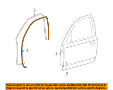 FORD OEM Front Door-Weatherstrip Seal Left XW7Z5420531AA