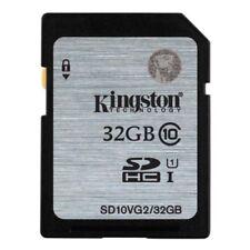 Tarjetas de memoria Kingston SDHC para cámaras de vídeo y fotográficas para 32 GB