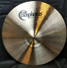 "Bosphorus traditional Thin Ride pelvis 20"" Cymbal 1800g feria musical 2019 piatto"