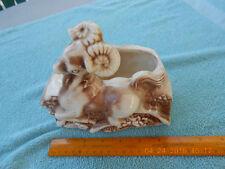 shawnee ceramic planter, vintage  used, key and change holder