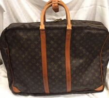 Authentic Vintage LOUIS VUITTON MALLETIER Monogram Large Travel Overnight Bag