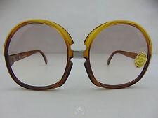 Vintage 80 SAPHIRA Occhiali da Sole Sunglasses Oversized Round NOS VTG OG