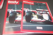 TOYOTA 1996 Competitive Body & Mech.  Parts Books