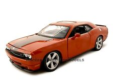 2008 DODGE CHALLENGER SRT8 ORANGE 1:24 DIECAST MODEL CAR BY MAISTO 31280