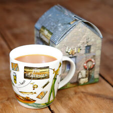 Queens at Your Leisure Giftboxed Mug Fisherman - Fine China 360ml