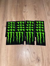 OFFICIAL MONSTER ENERGY STICKERS 20 FOR £5