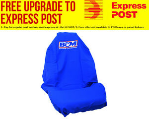 B&M Throw Over Seat Cover Universal, with logo, Each