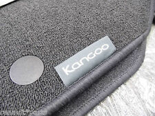 Renault Genuine Kangoo Car II Carpet Textile Front & Rear Floor Mats Inc Van