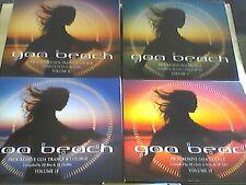 Goa  Beach  Vol. 16 ,17 ,18 ,19    sehr  guter Zustand      Sammlung