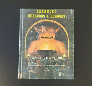AD&D Hardcover Book - 3rd Printing Players Handbook - Dungeons Dragons TSR 2010
