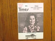 April 26, 1980 TV Times TELE-VUE  (LORETTA  LYNN/MICHAEL  WILLIAMS/EDWIGE  TAIE)