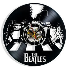 The Beatles Vinyl Record Wall Clock Gift Surprise Ideas Best Friends Decor Art