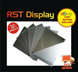 Acrylic Plastic Mirror Shatterproof Perspex Sheet Tile Wall Mounted A6 upto A3