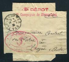 Petite bande journal de Toulon / Mer pour Troyes en 1936 en FM , Marine - N 35