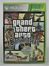 Grand Theft Auto San Andreas Microsoft Xbox 360 Brand New Sealed Free Shipping