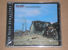 RUSH - A FAREWELL TO KINGS - CD REMASTERED SIGILLATO (SEALED)
