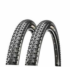 2 X Maxxis Crossmark Mtb Bike Tyre 29 X2.10 Black