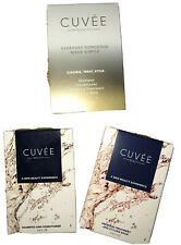 Cuvee Beauty Complex Shampoo Conditioner Premiere Treatment Balm Hair Sampler