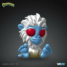 Veve NFT Collectible Cryptkins - Yeti COMMON sold out