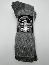 3 pair Men's Outdoor Life 71% Merino Wool Thermal Boot Socks 10-13