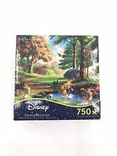 Disney Thomas Kinkade Winnie the Pooh 750 Piece Jigsaw Pre Owned