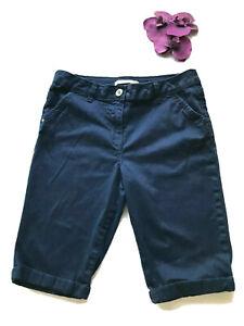 George Womens Shorts sz 10 Navy Blue Turn-up pockets