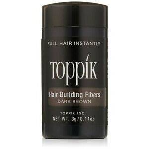 Toppik Dark Brown 0.11 Ounce Hair Building Fibers