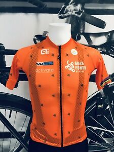 Ale Cycling Jersey Short Sleeve Cyprus UCI Gran Fondo 2020/21|Mens-Orange