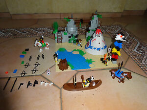 LEGO 6748 WESTERN Cow-Boy Indian COMPLET + NOTICE RARE