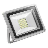 FOCO PROYECTOR LED SMD 30W -ESPAÑA- Exterior Focos Lámpara  Pared Luz Reflector